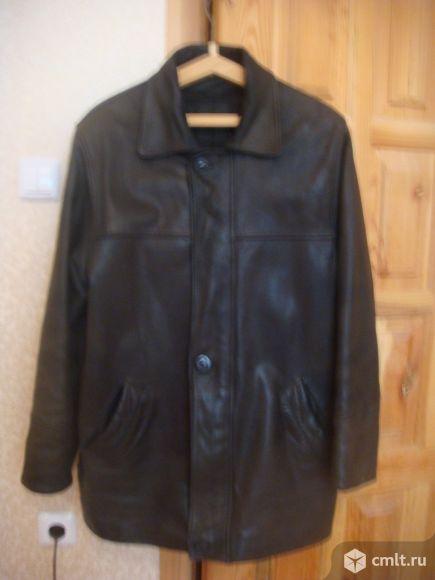 Куртка кожаная нубук на подстежке (Турция )