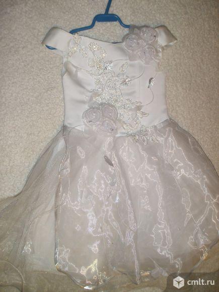 Нарядное платье и накидка