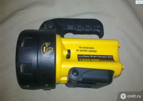 Фонарь-прожектор супер яркий, аккумуляторный