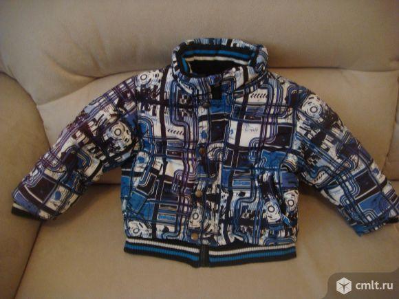 Куртка теплая на флисе. Фото 1.
