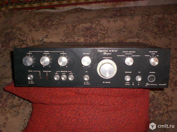 Усилитель Амфитон А1-01-2У стерео. Фото 1.