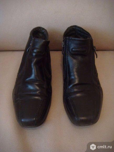 Ботинки зимние     ( кожа ). Фото 1.