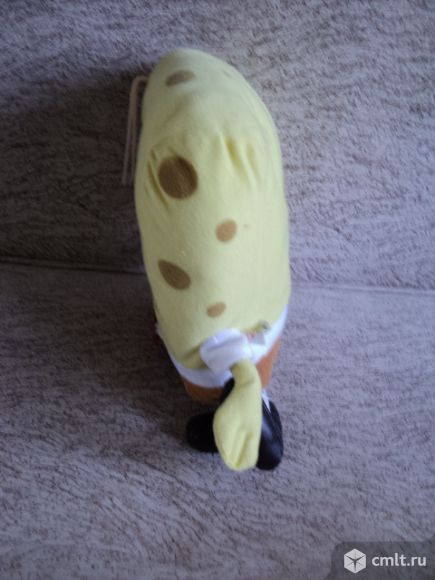 Мягкая игрушка губка спанч боб. Фото 4.