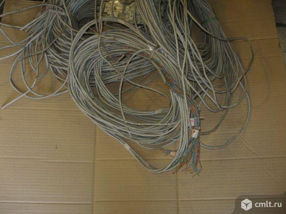 Для  компа провод 8жильный. Фото 1.
