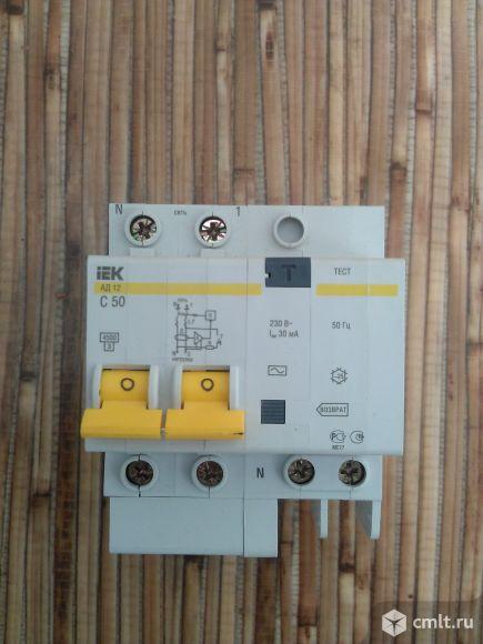 Дифференциальные автоматы и выключатели IEK
