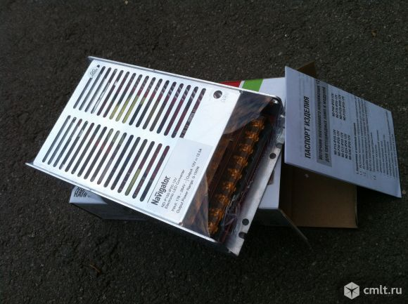 Блок питания 220/12В 12,5А 150Вт. Фото 2.