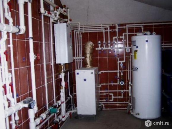 Монтаж систем отопления, водопровода.