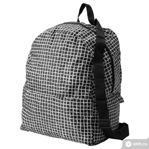 рюкзак кнэлла очень вместительный из легкой невесомой ткани , легко компактно складывается