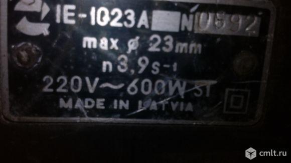 Дрель REBIR IE 1023 A  с победитовой коронкой 75 мм.. Фото 4.