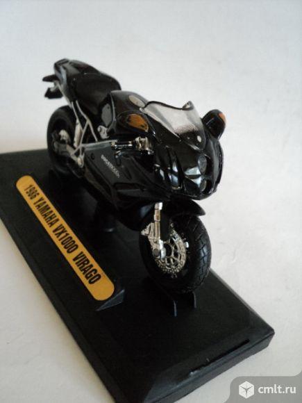 Мотоцикл ямаха. Фото 7.