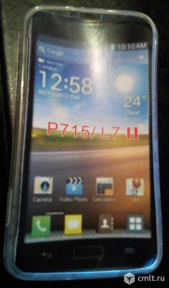 Продам чехол-бампер на LG-P715  L7 Dual. Фото 1.
