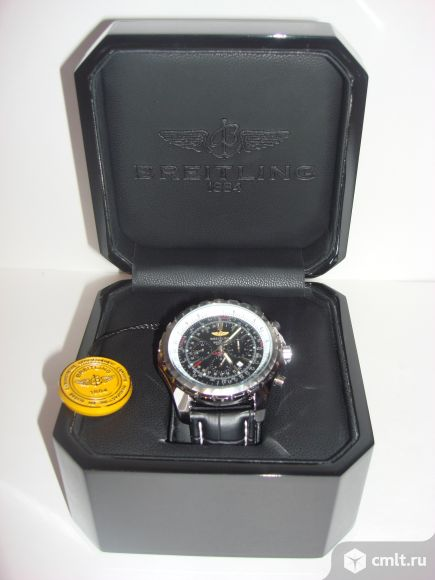 Продаю новую шкатулку для мужских часов Breitling.. Фото 6.