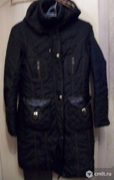 Плащ-пальто утепленное