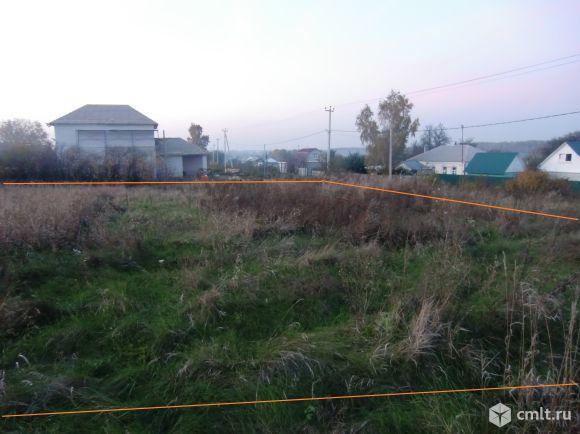 Участок 25 сот.ИЖС Русская Гвоздёвка для постройки дома. Фото 1.