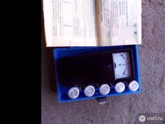 Вольтметр аккумуляторный М2033. Фото 2.
