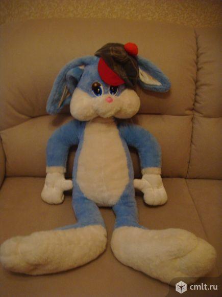 Мягкая игрушка (заяц 1 м ). Фото 1.