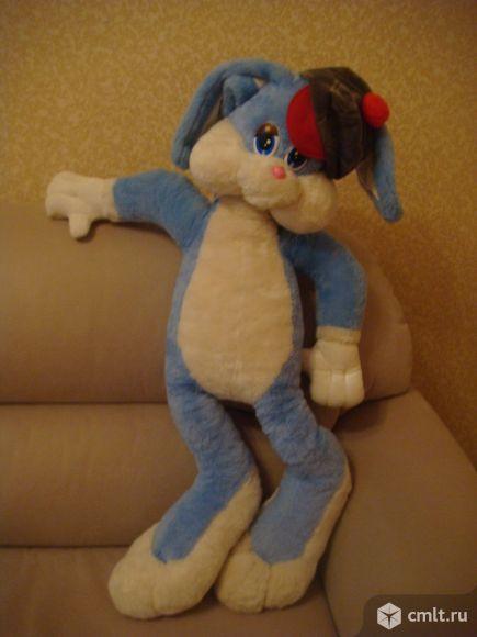 Мягкая игрушка (заяц 1 м ). Фото 2.