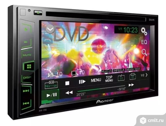 Новая, гарантия год 2 DIN Pioneer DVD AVH-180G
