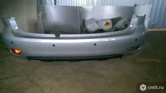 Задний бампер для Nissan Patrol y62. Фото 1.