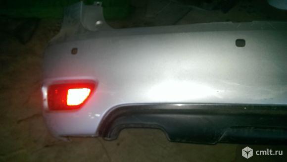 Задний бампер для Nissan Patrol y62. Фото 8.