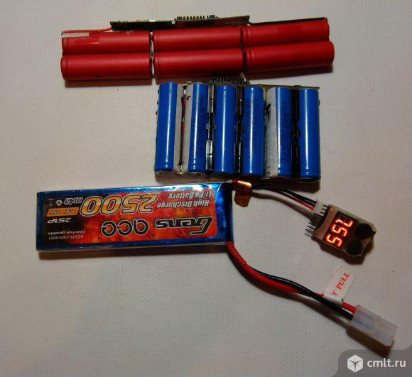Батарейки li ion б/у для повербанка или фонарика