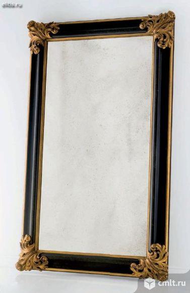 Зеркало в красивой полимерной раме. Фото 1.