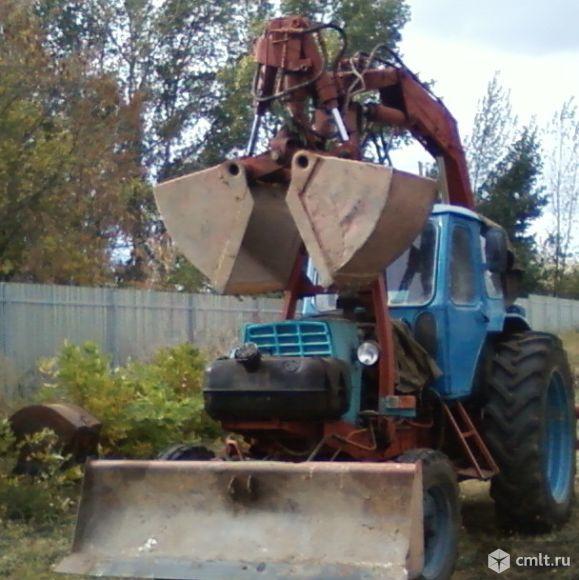 Эксковатор на базе ЮМЗ-6АЛ - 1983 г. в.