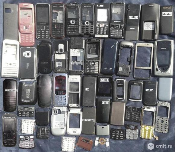Телефонов сотовых корпуса. Фото 1.