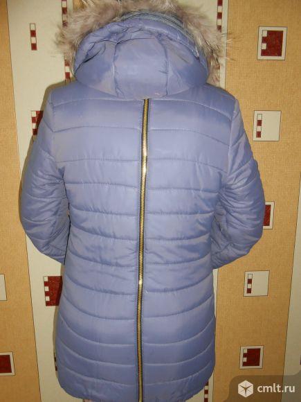 Удлинённая тёплая зимняя куртка