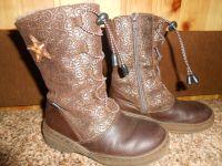 Теплые зимние кожаные сапожки Kotofey