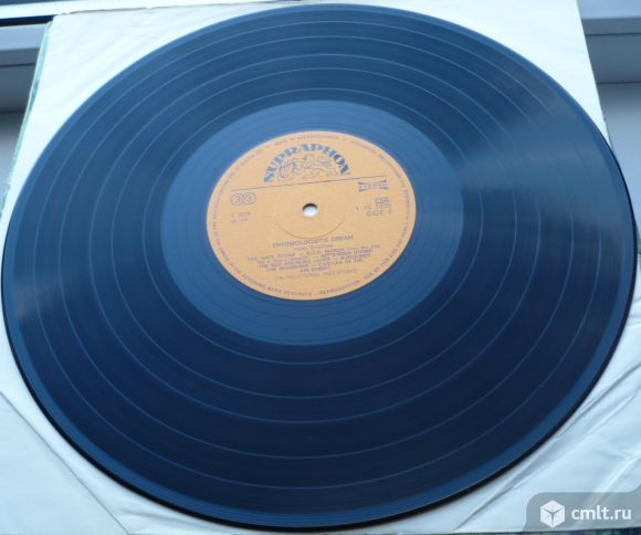 "Грампластинка (винил). Гигант [12"" LP]. The Traditional Jazz Studio. Entomologist's Dream. Supraphon. Фото 8."