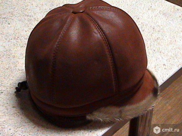 Зимняя шапка с мехом. Фото 1.