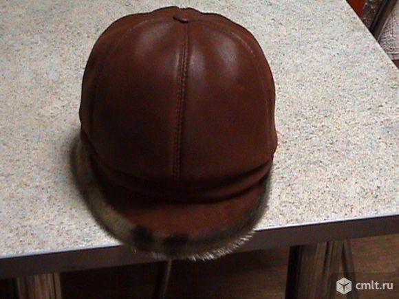 Зимняя шапка с мехом. Фото 2.