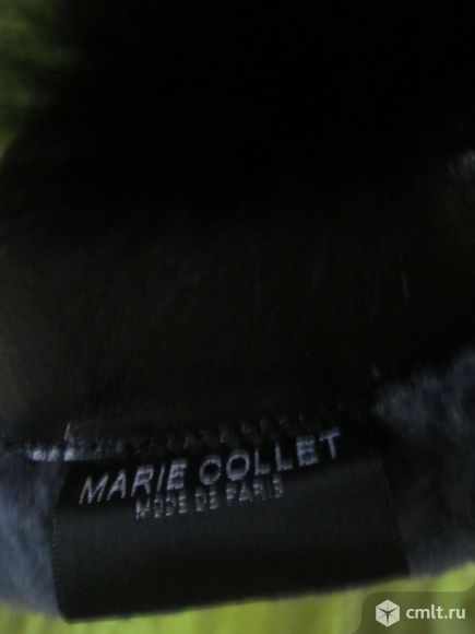 П/сапожки,зима -замша.черные,размер -37,каблук -10 см.. Фото 7.