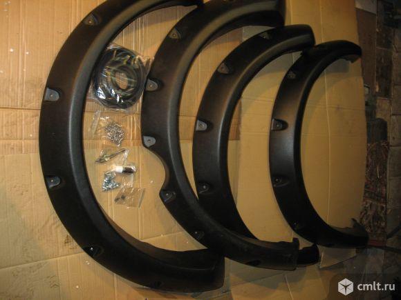 Для митцубиси л200 расшерители колесных арок ширина10см.. Фото 1.
