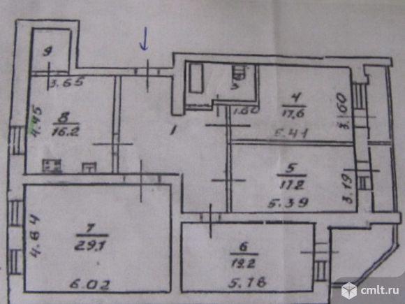 4-комнатная квартира 129 кв.м