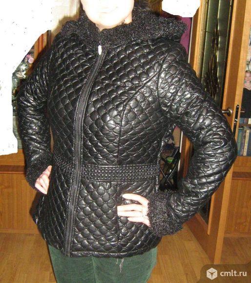 Куртка из иск.кожи. Фото 1.
