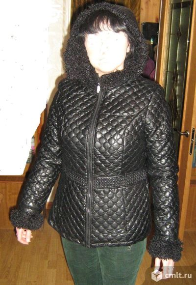 Куртка из иск.кожи. Фото 2.