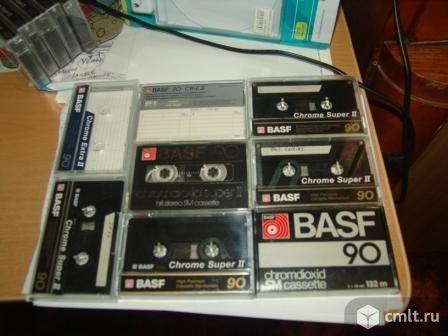 Кассеты  аудио Sony, Basf, TDK Maxell. Фото 1.