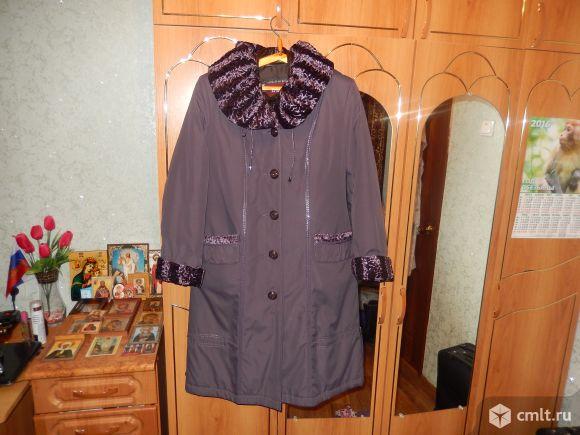 Продаётся пальто на синтепоне.