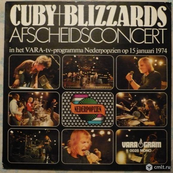 """Грампластинка (винил). Гигант [12"""" LP]. Cuby + Blizzards. Afscheidsconcert. VARAgram, 1974. Блюз.. Фото 1."""