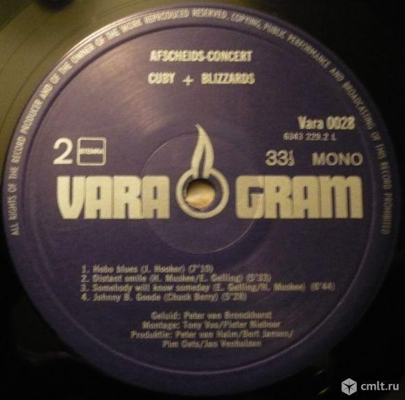 """Грампластинка (винил). Гигант [12"""" LP]. Cuby + Blizzards. Afscheidsconcert. VARAgram, 1974. Блюз.. Фото 8."""