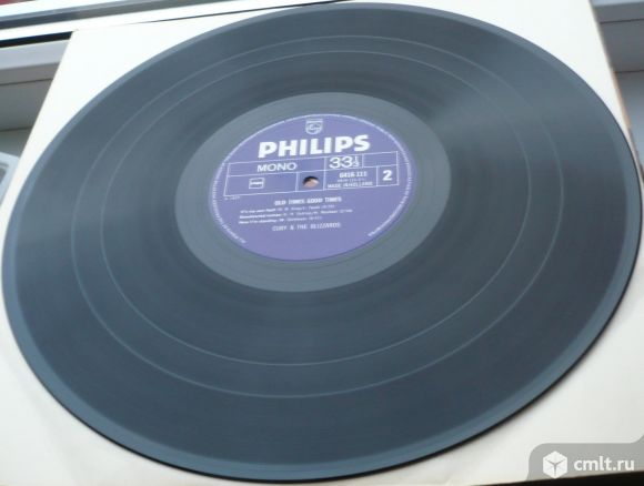 """Грампластинка (винил). Гигант [12"""" LP]. Cuby + Blizzards. Old times - good times. (P) 1977. Holland.. Фото 8."""