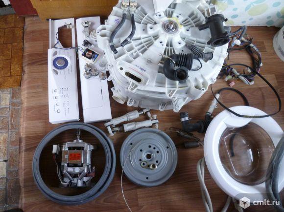 Запчасти для стиральной машины LG WD80130N. Есть все,кроме модуля. Загрузка 5 кг. Глубина 44 см.. Фото 2.