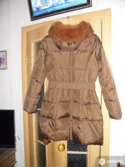 Теплое зимнее пальто
