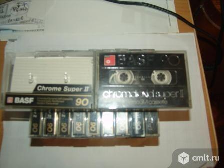 Хром  кассеты Maxell, Basf , Sony, TDK и другие. Фото 1.