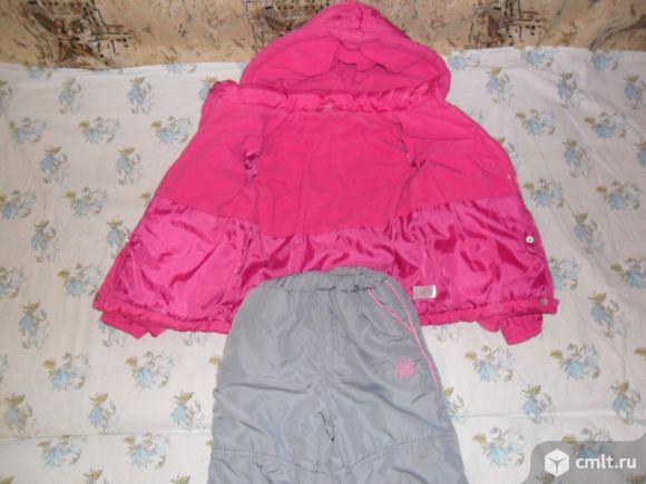 Куртка тёплая 104см Глоpия Джинс+ бонус в даp.. Фото 3.