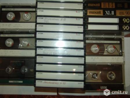 Кассеты аудио Басф, ТДК , Макселл, Сони, Коника и другие. Фото 1.