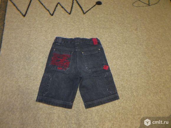 Джинсовые шорты на мальчика. Фото 1.