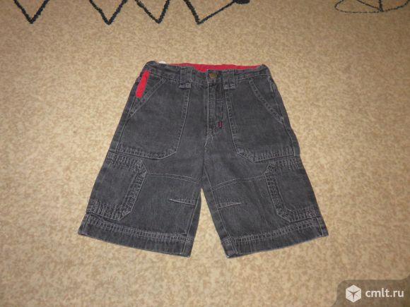 Джинсовые шорты на мальчика. Фото 2.